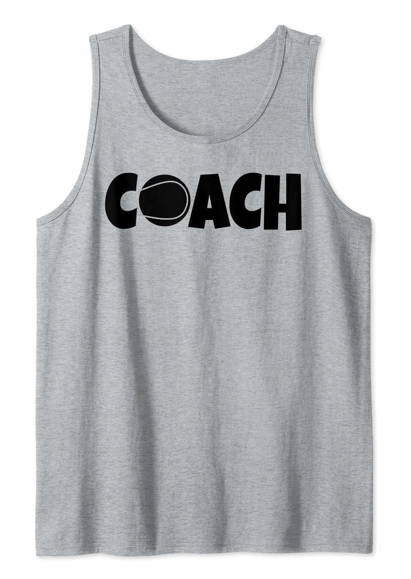 Tennis Coach Lead Mentor Coaching  Tank Top