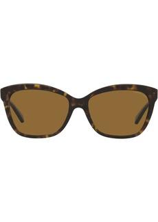 Coach tortoiseshell-frame sunglasses