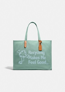 Coach 100 percent recycled tote 42