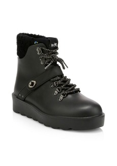 Coach Urban Faux Fur Hiking Boots