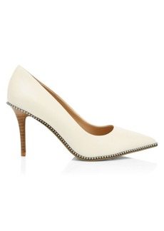 Coach Waverly Studded Leather Pumps
