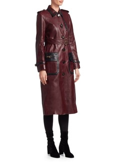 Coach 1941 Western Leather Trench Coat