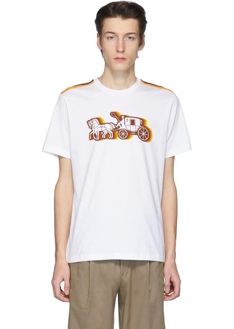 Coach White Horse & Carriage T-Shirt