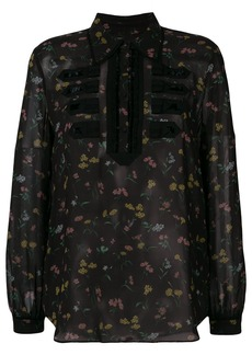 Coach Wildflower print military shirt