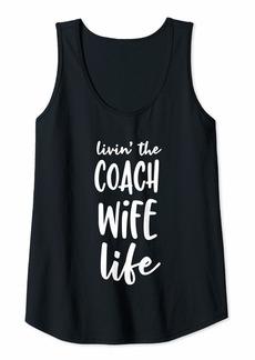 Womens Coach Wife Life  Tank Top