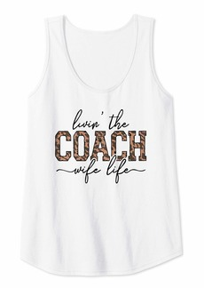 Womens Living The Coach Wife Life | Coach Wife Tank Top