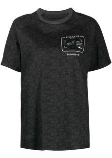 Coach x Champion embellished signature T-shirt