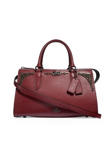 Coach x Selena Gomez Crystal-Embellished Bag