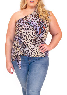 Plus Size Women's Coldesina Jenny Convertible One Shoulder Top