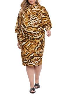Plus Size Women's Coldesina Rachael Hoodie Dress