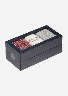 Cole Haan 3 Pair Isle Boot Sock Gift Box
