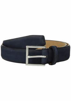 Cole Haan 32 mm Burnished Nubuck Leather Belt