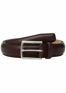 Cole Haan 32 mm. Smooth Leather Pressed Stitch Edge