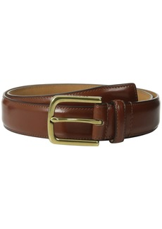 Cole Haan 32mm Spazzolato Feather Edge Stitched Strap