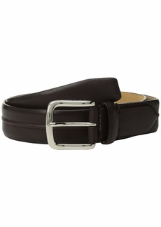 Cole Haan 35 mm Leather Belt with Trapunto Detail
