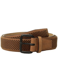 Cole Haan 35mm Nubuck Perforated Belt