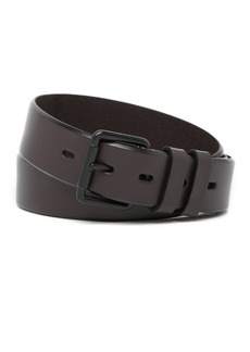Cole Haan Bevel Edge Leather Belt