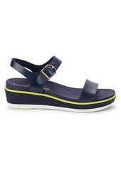 Cole Haan Buckle Leather Sandals