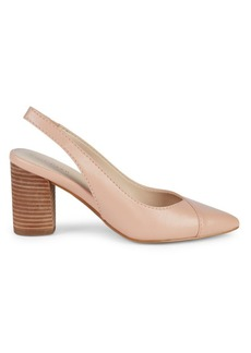 Cole Haan Cadee Leather Slingback Pumps