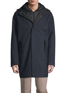 Cole Haan 2-in-1 Bonded Quilted Jacket & Parka