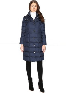 "Cole Haan 40"" Down Coat with Bib"