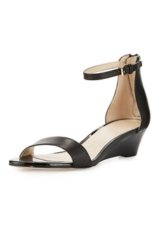 Cole Haan Adderly Grand Leather Low-Wedge Sandal