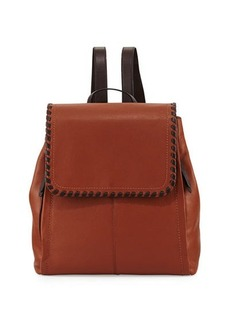 Cole Haan Addey Whipstitched Leather Backpack