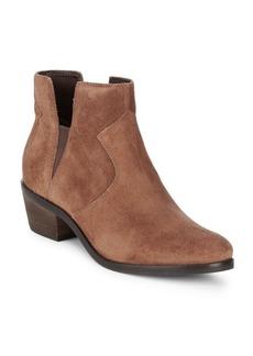 Cole Haan Alayna Block Heel Leather Booties