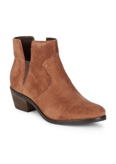 Alayna Block Heel Leather Booties