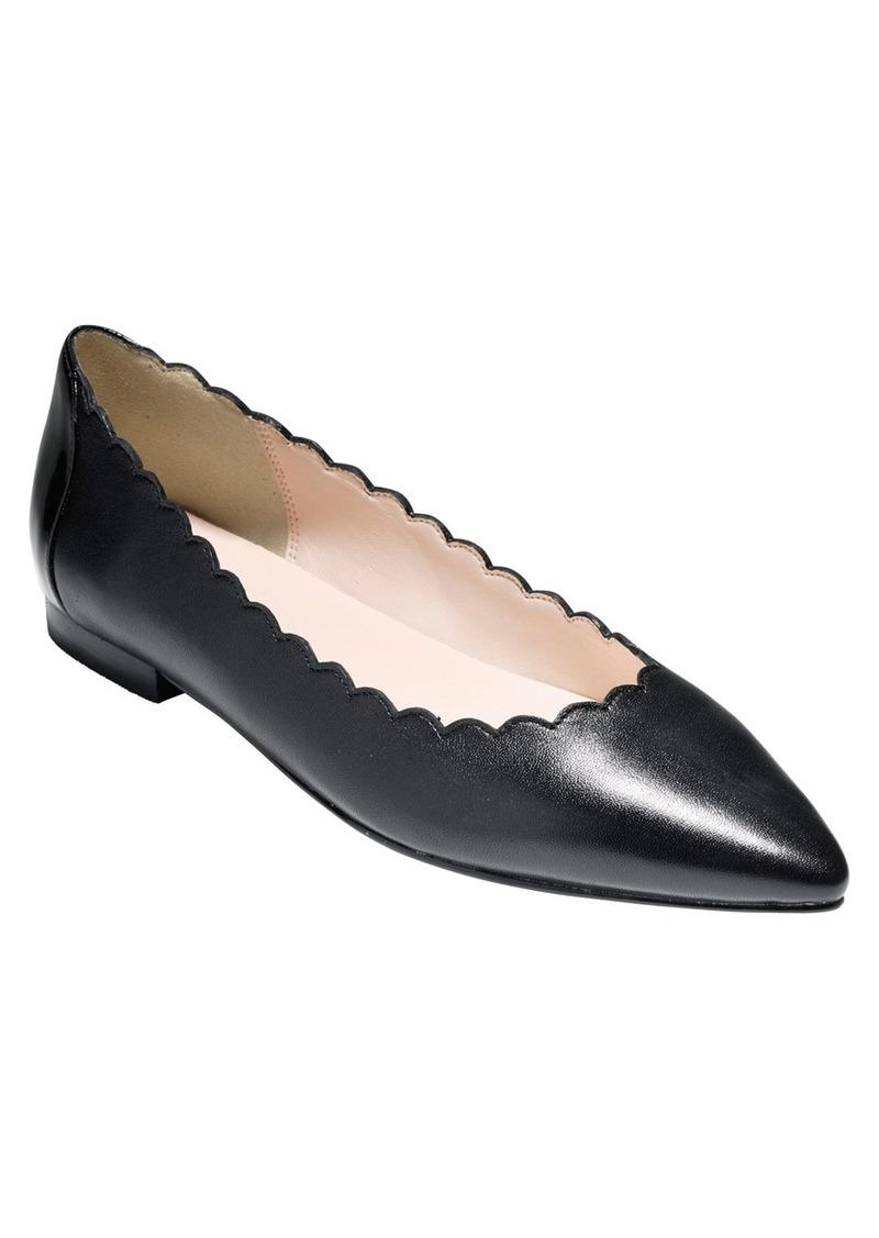 Cole Haan 'Alice' Pointy Toe Flat (Women)