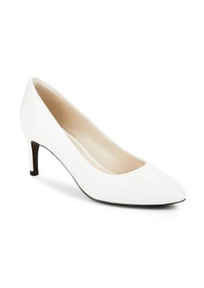 Cole Haan Almond Slip-On Stiletto Pumps