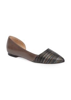 Cole Haan 'Amalia' Half d'Orsay Skimmer Flat (Women)