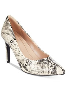 Cole Haan Amelia Grand Embossed Pumps Women's Shoes