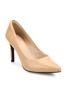 Cole Haan Amelia Grand Leather Point Toe Pumps