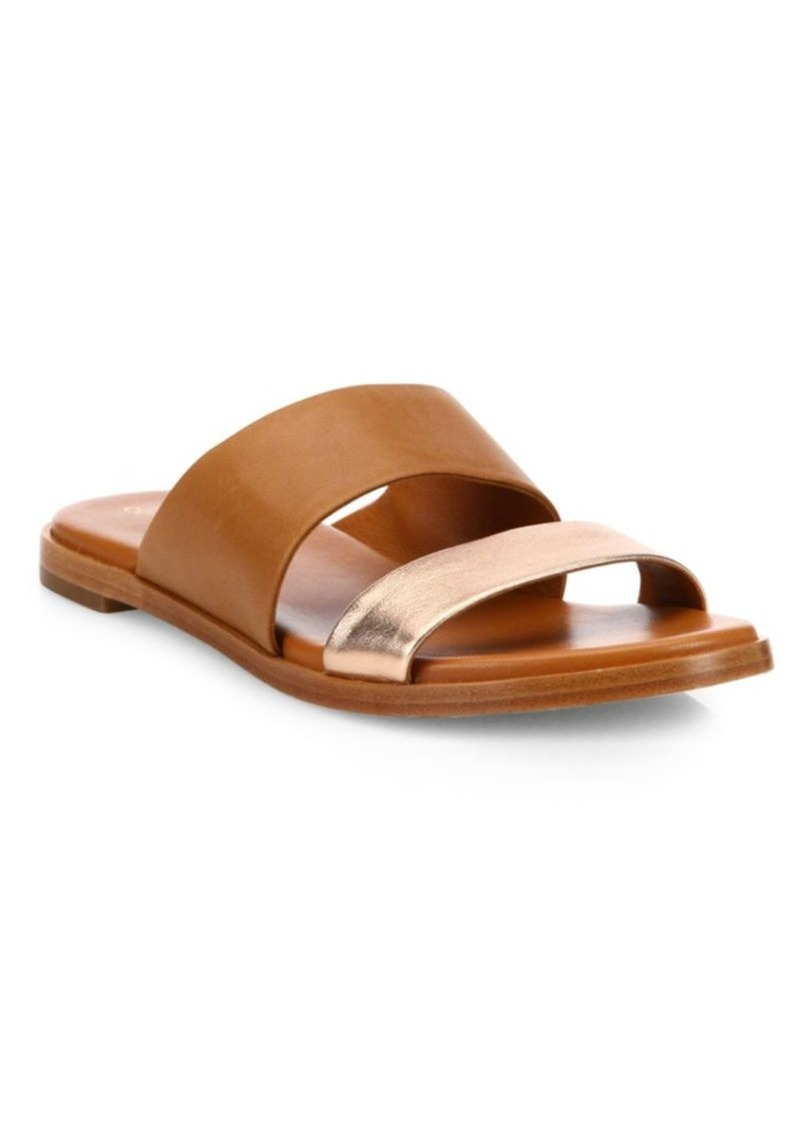 Cole Haan Anica Leather Slides sXlRv