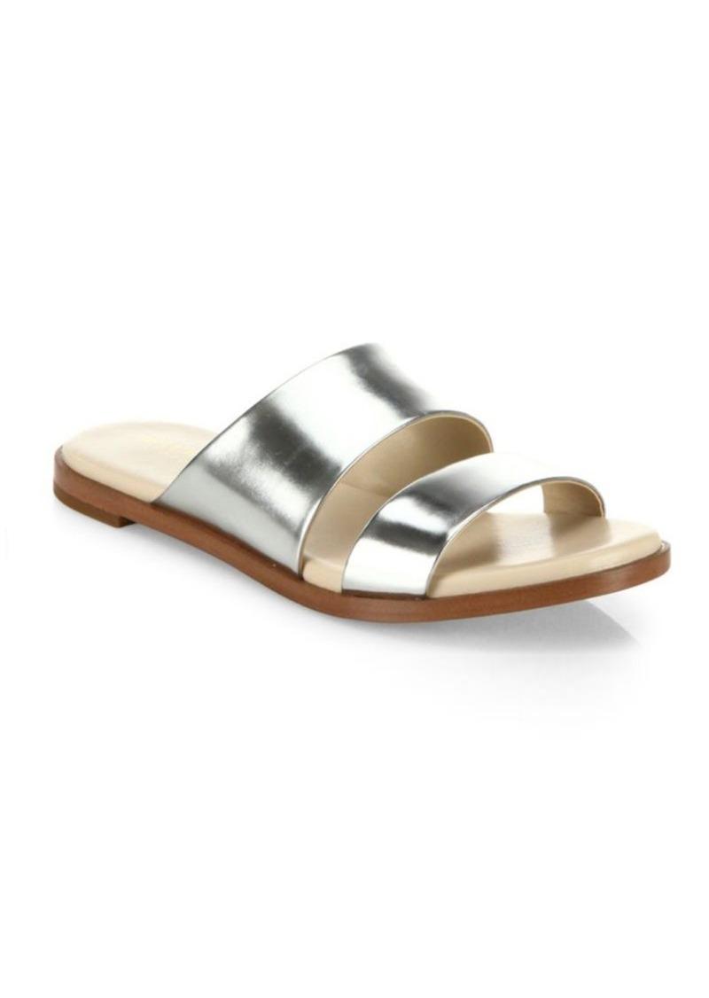 Cole Haan Anica Metallic Leather Slides