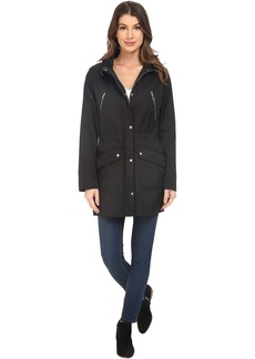 Cole Haan Anorak with Removable Hood and Adjustable Waist