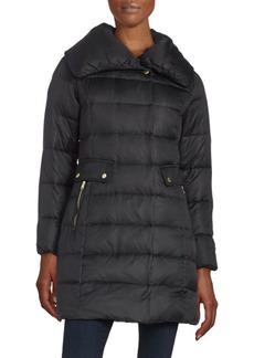 Asymmetric Down Puffer Coat