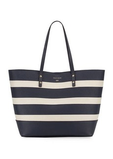 Cole Haan Beckett Striped Tote Bag