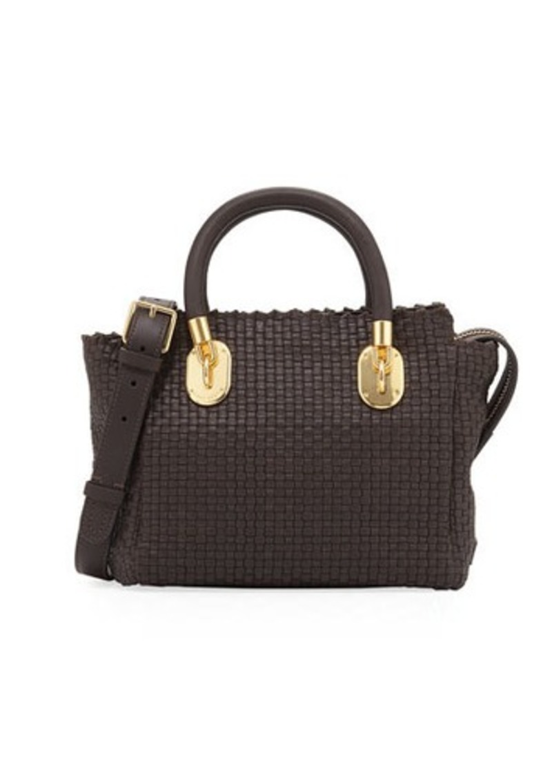 Cole Haan Benson Ii Woven Small Square Tote Bag