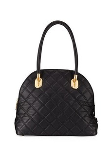 Cole Haan Benson Quilted Dome Satchel Bag