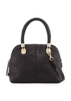 Cole Haan Benson Small Leather Dome Satchel Bag