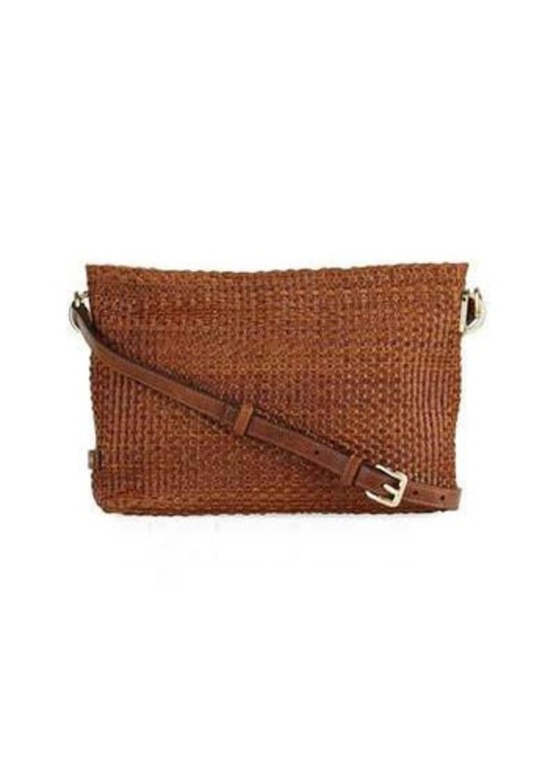 833a6136bf4 Cole Haan Cole Haan Benson Woven Leather Crossbody Bag | Handbags