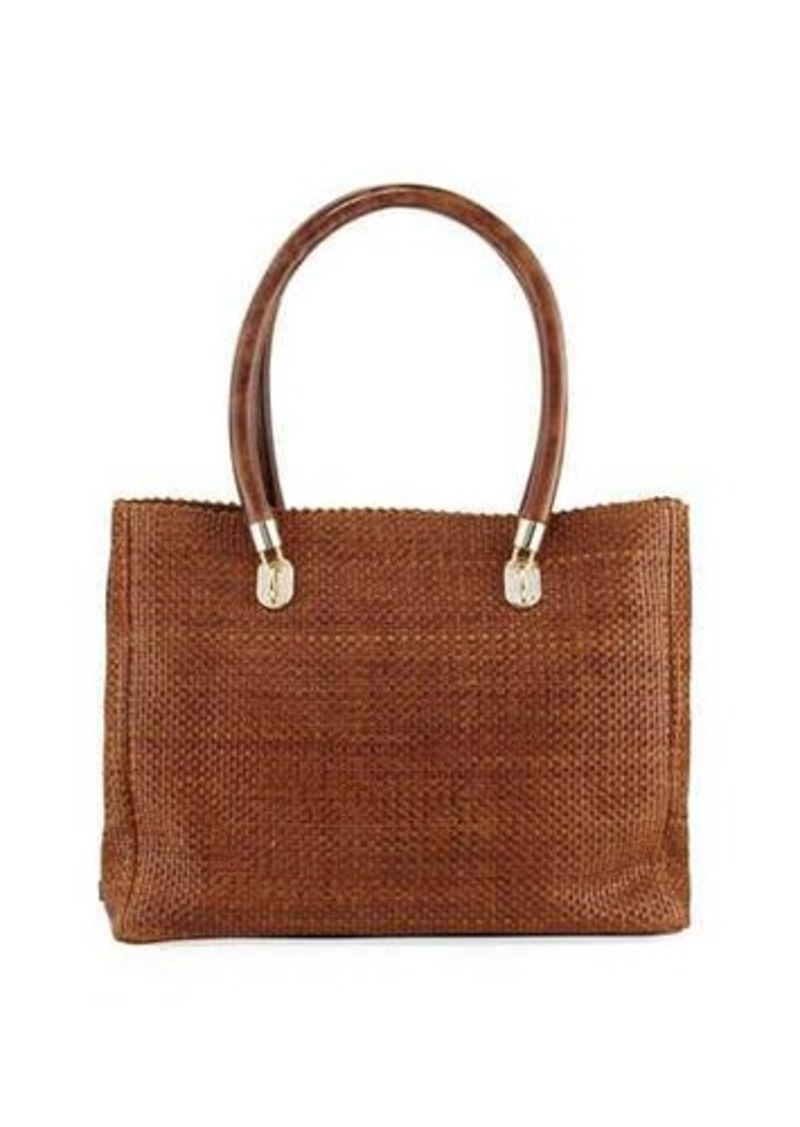 Cole Haan Benson Woven Leather Tote Bag