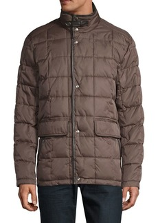 Cole Haan Box-Quilted Coat
