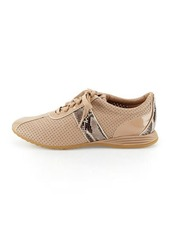 Cole Haan Bria Snake-Print Leather Sneaker