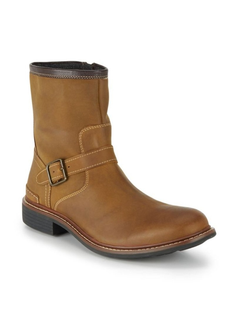 Cole Haan Bryce Leather Moto Boots