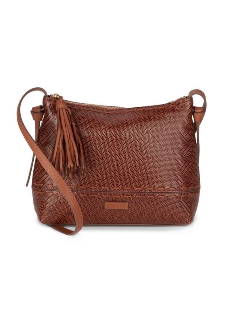 Cole Haan BrynnTextured Leather Crossbody Bag