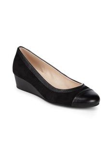 Cole Haan Wedge Leather Pumps