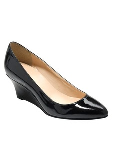 Cole Haan Catalina Patent Leather Wedge Pumps